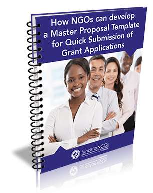 How NGOs can develop a Master Proposal Template