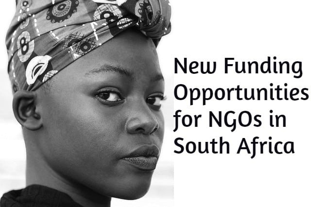 New Funding Opportunities for NGOs in South Africa
