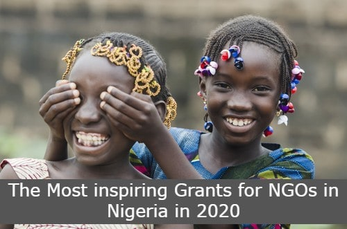 The Most inspiring Grants for NGOs in Nigeria in 2020