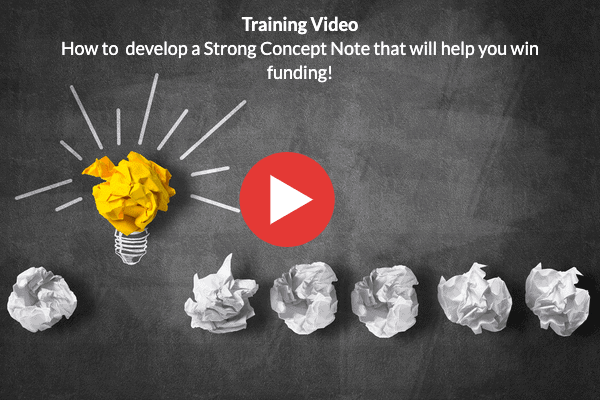 How to Develop a Strong Concept Note for winning funding for your NGO