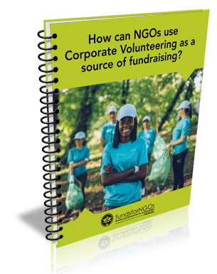 How can NGOs use Corporate Volunteering as a source of fundraising?