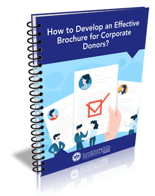 How to develop an effective brochure for corporate donors?