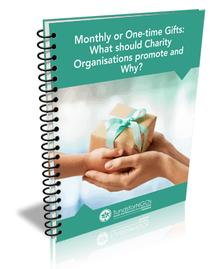 Monthly or One-time Gifts:What should Charity Organisations promote and Why?