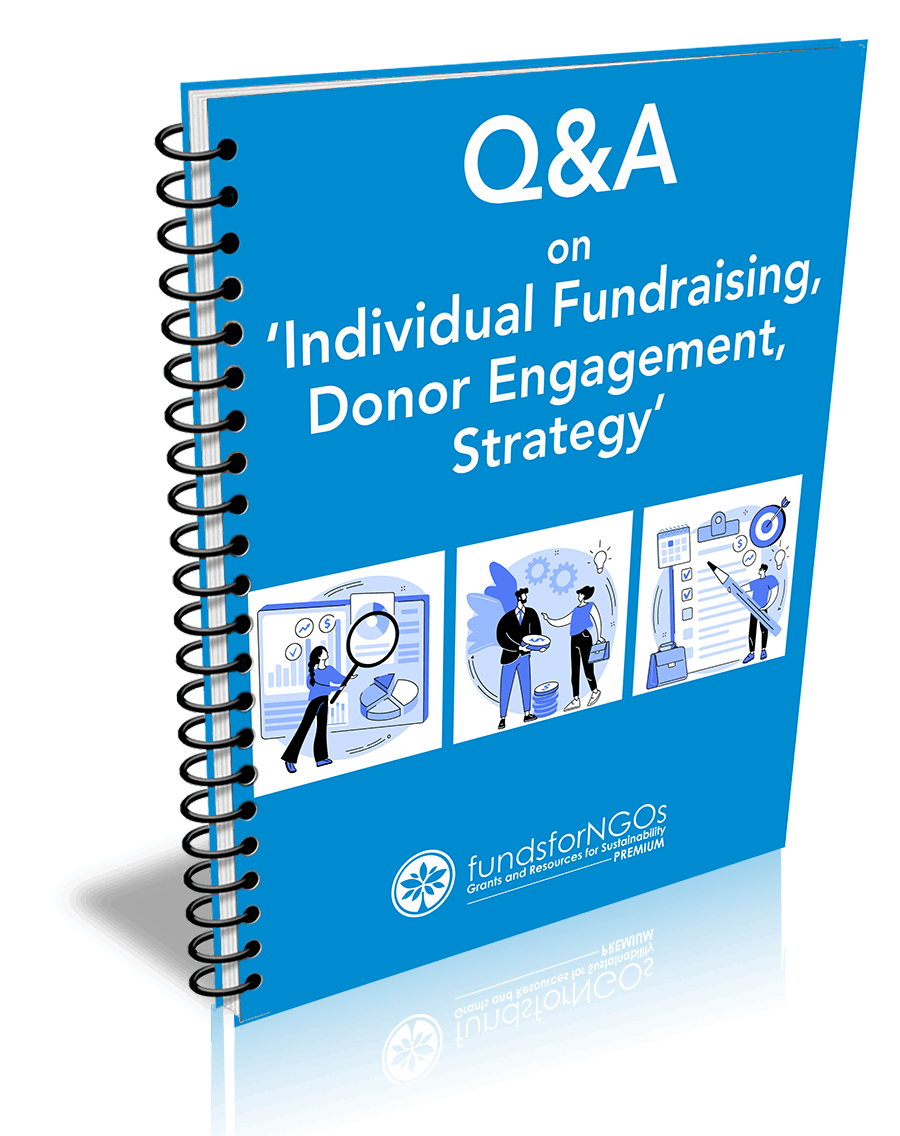 Q&A on 'Individual fundraising, Donor Engagement, Strategy'