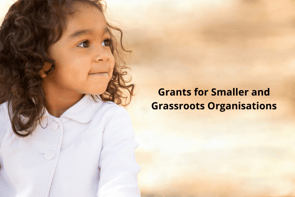 50+ Open Grants for Smaller and Grassroots Organizations delivering great work