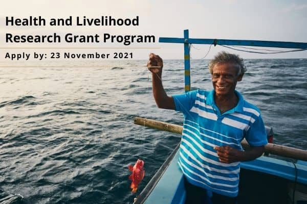 [Only for MENA] Health & Livelihood Research Grant Program and Donors supporting Region with Development Assistance