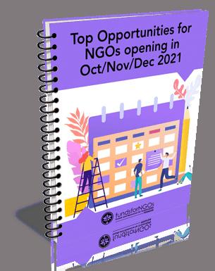 Top Opportunities for NGOs opening in Oct/Nov/Dec 2021